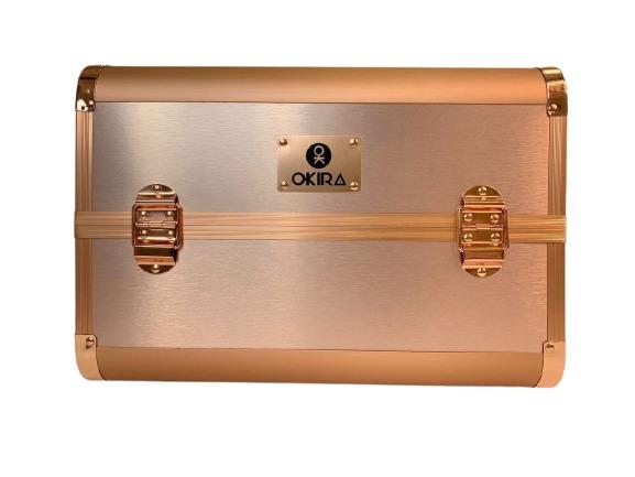 Бьюти кейс для косметики CWB 8340 розовое золото - изображение 4