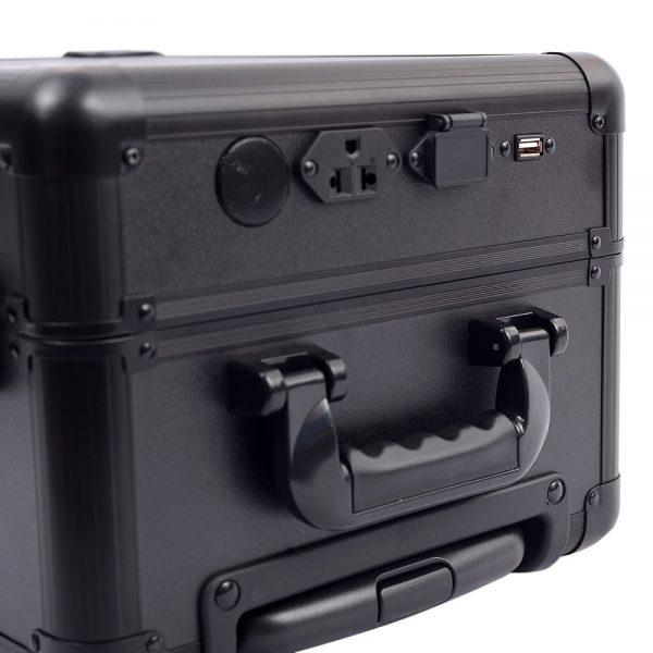 Мобильная студия визажиста черная без ножек LC 7006 - изображение 2