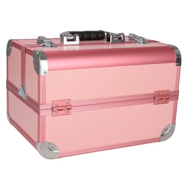 Бьюти кейс для косметики CWB 8340 розовый - изображение 1
