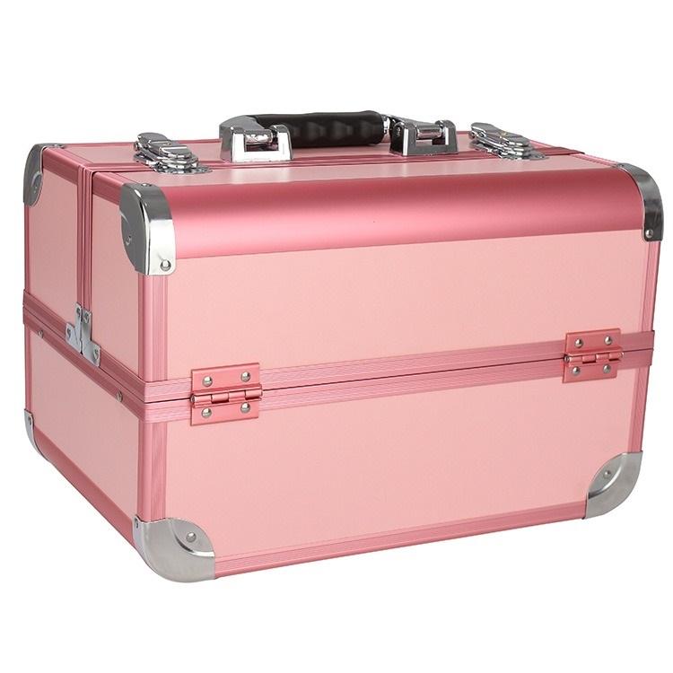 Бьюти кейс для косметики CWB 8340 розовый - изображение