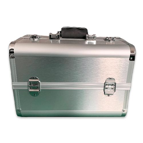 Бьюти кейс для косметики CWB7350 серебряный - изображение