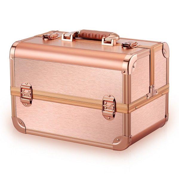 Бьюти кейс для косметики CWB 8340 розовое золото - изображение 1
