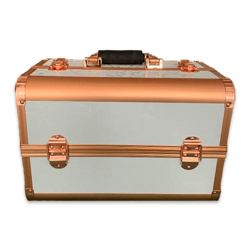 Бьюти кейс для косметики CWB7350 белый с золотом - изображение 4
