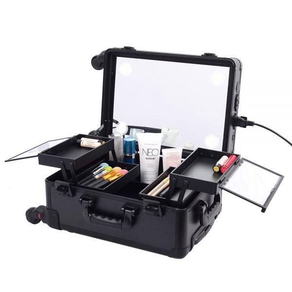 Мобильная студия визажиста черная без ножек LC 7006 - изображение 1