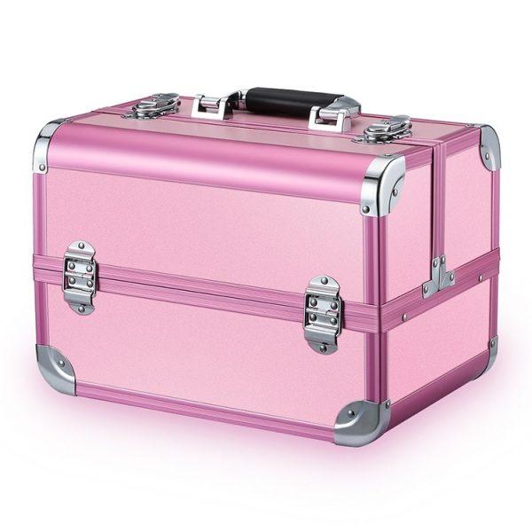 Бьюти кейс для косметики CWB7350 розовый - изображение 1