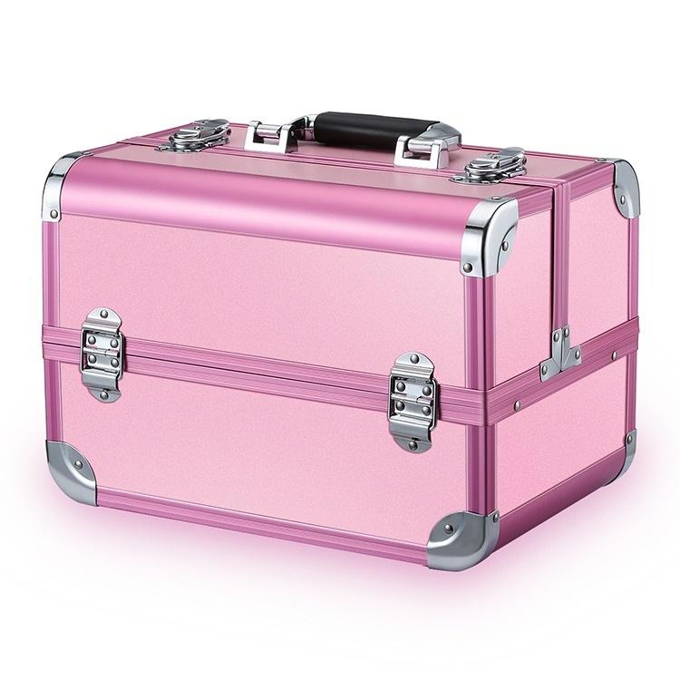Бьюти кейс для косметики CWB7350 розовый - изображение