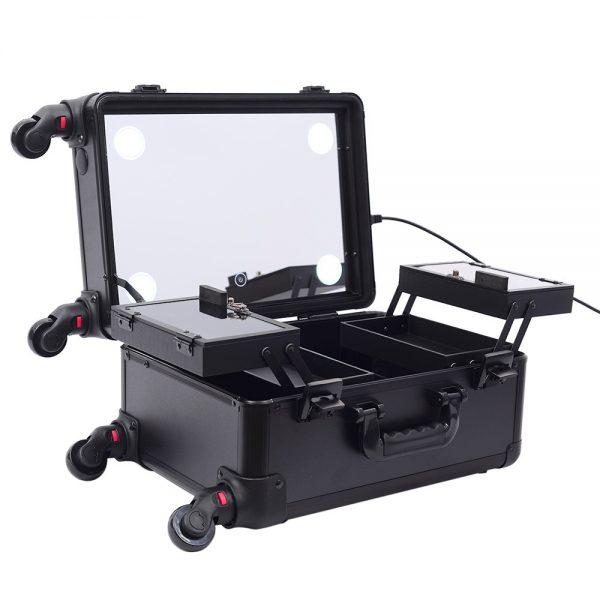 Мобильная студия визажиста черная без ножек LC 7006 - изображение 7