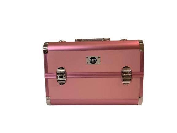 Бьюти кейс для косметики CWB 8340 розовый - изображение 4