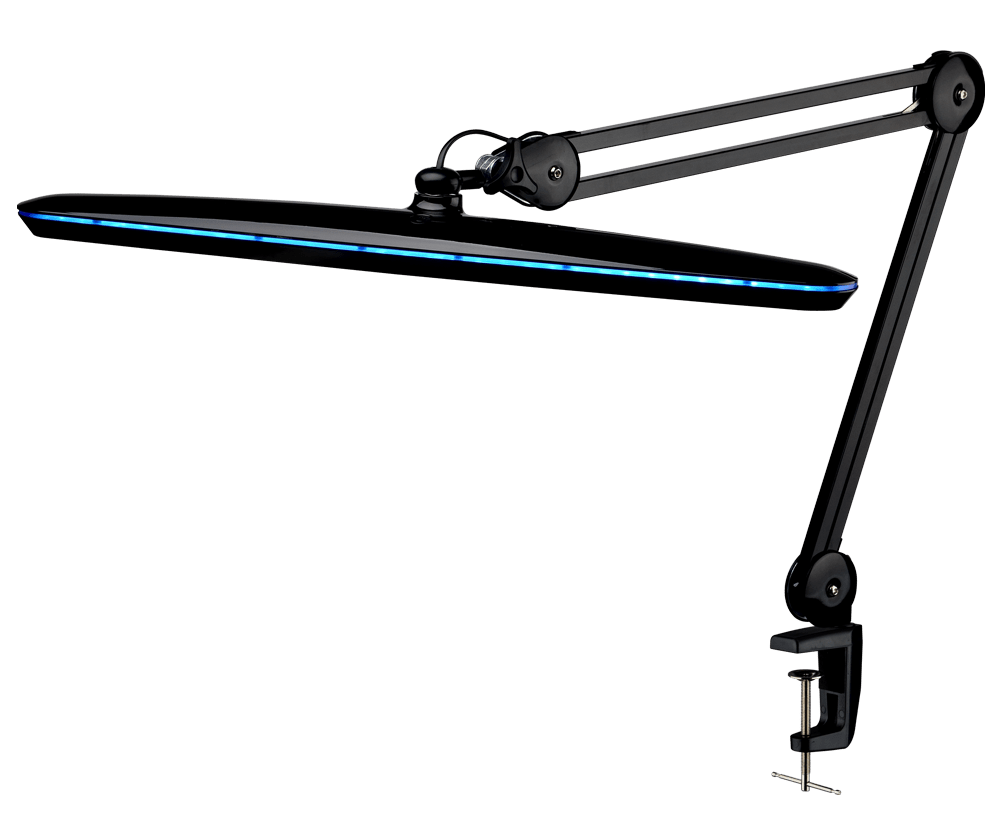 Настольная светодиодная лампа LED 117 PRO (черная) - изображение