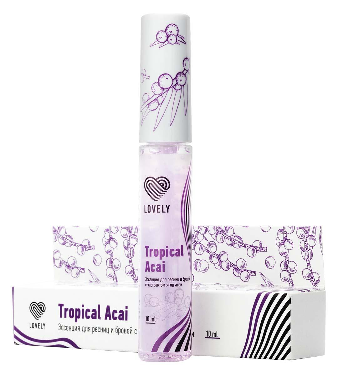 Эссенция для ресниц и бровей Acai Tropical 10 мл - изображение