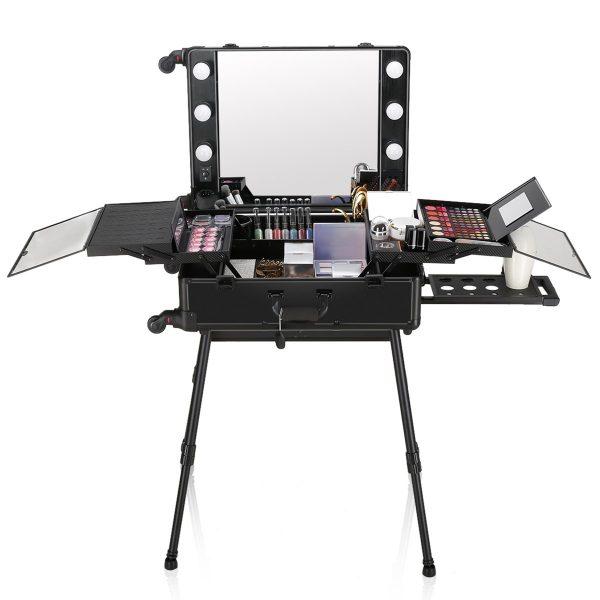 Мобильная студия визажиста черная LC 004 - изображение 1