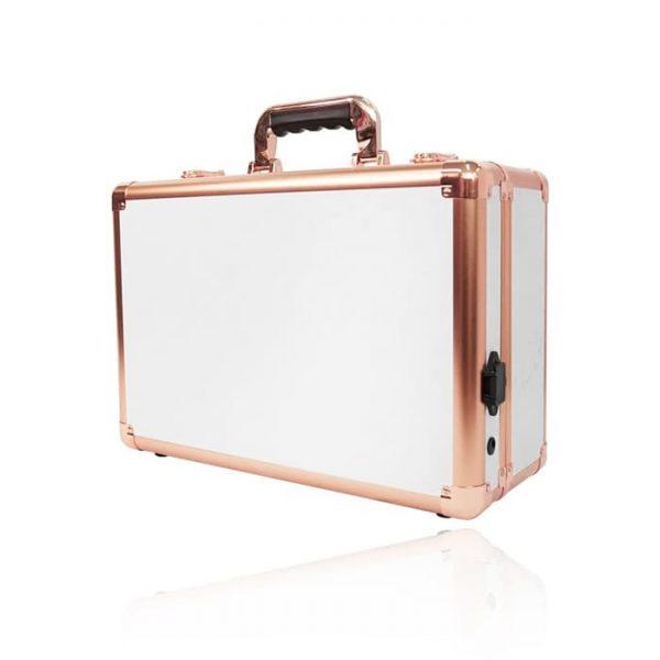 Мобильная студия визажиста без ножек LC 7019 белый с золотом - изображение 4