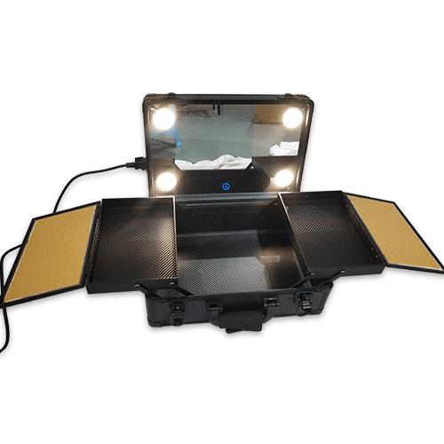 Мобильная студия визажиста без ножек LC 019 черный - изображение