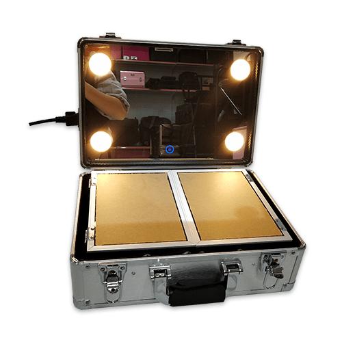 Мобильная студия визажиста без ножек LC 019 серебряный - изображение 6