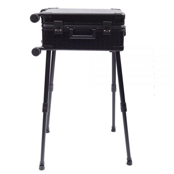 Мобильная студия визажиста чёрная Premium LC036 - изображение 2