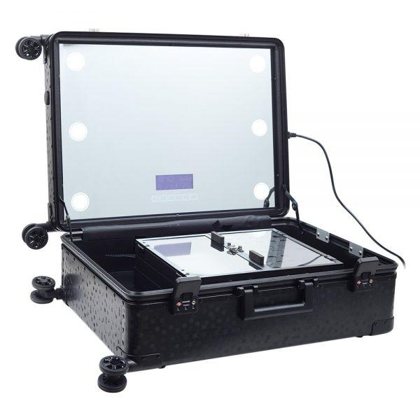 Мобильная студия визажиста чёрная Premium LC038 - изображение 2