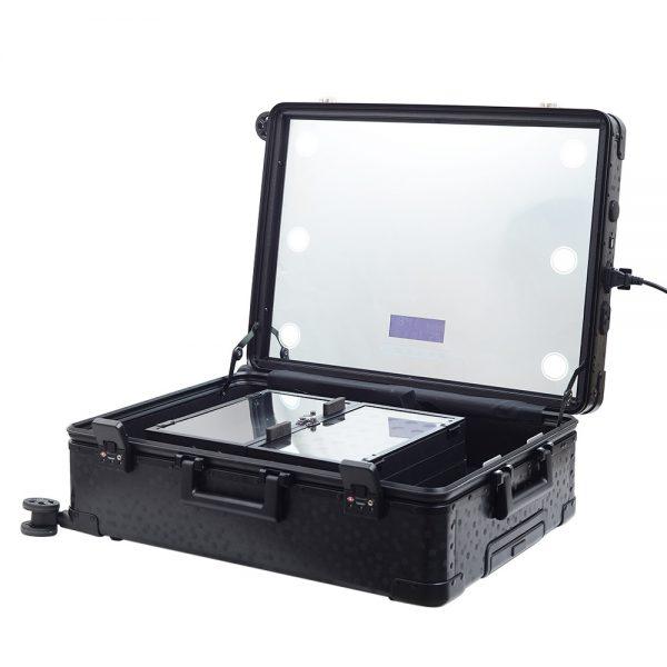 Мобильная студия визажиста чёрная Premium LC038 - изображение 4