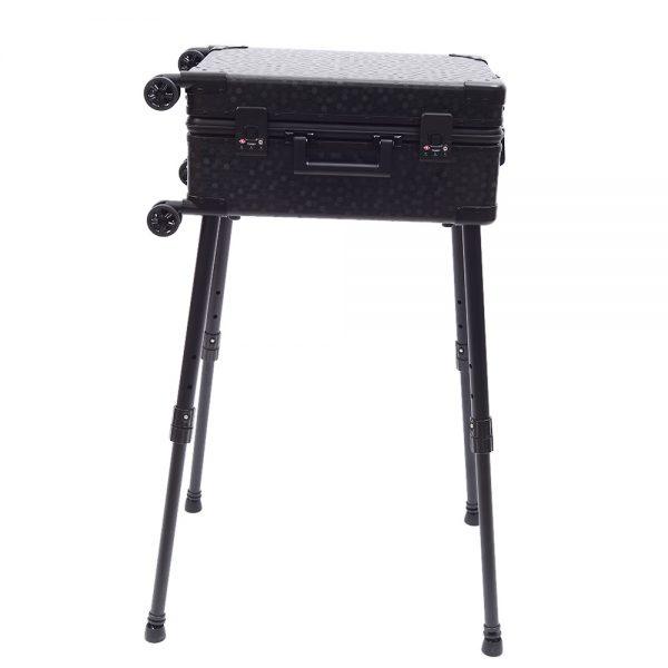 Мобильная студия визажиста чёрная Premium LC036 - изображение 12