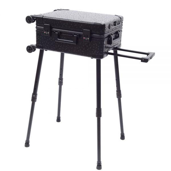 Мобильная студия визажиста чёрная Premium LC036 - изображение 13