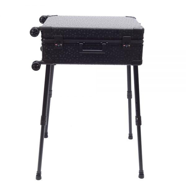 Мобильная студия визажиста чёрная Premium LC038 - изображение 5