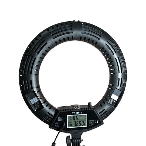 Лампа кольцевая OKIRA LED RING LCD 480 SY - изображение