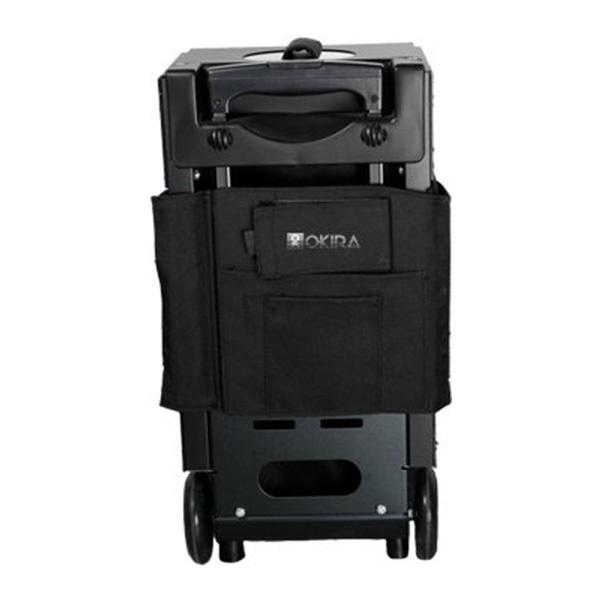 Сумка (чемодан) для визажиста OKIRA Black - изображение 3