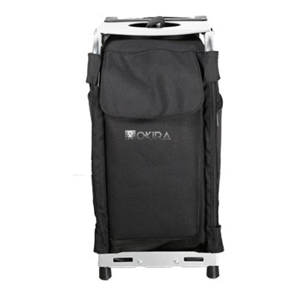 Сумка (чемодан) для визажиста OKIRA Silver - изображение 3