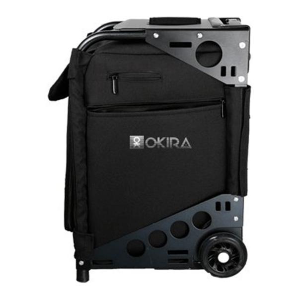 Сумка (чемодан) для визажиста OKIRA Black - изображение 4