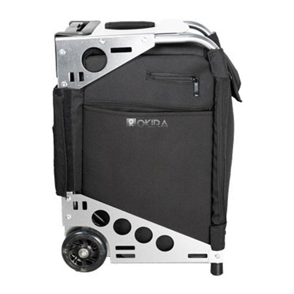 Сумка (чемодан) для визажиста OKIRA Silver - изображение 4