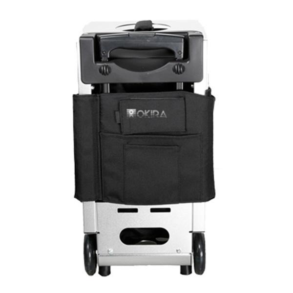 Сумка (чемодан) для визажиста OKIRA Silver - изображение 5
