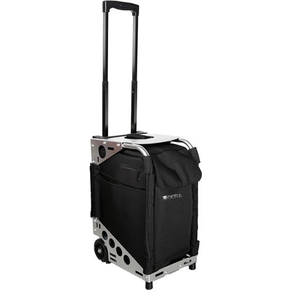 Сумка (чемодан) для визажиста OKIRA Silver - изображение 6