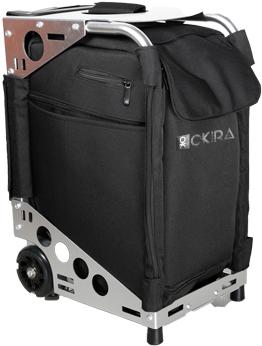 Сумка (чемодан) для визажиста OKIRA Silver - изображение