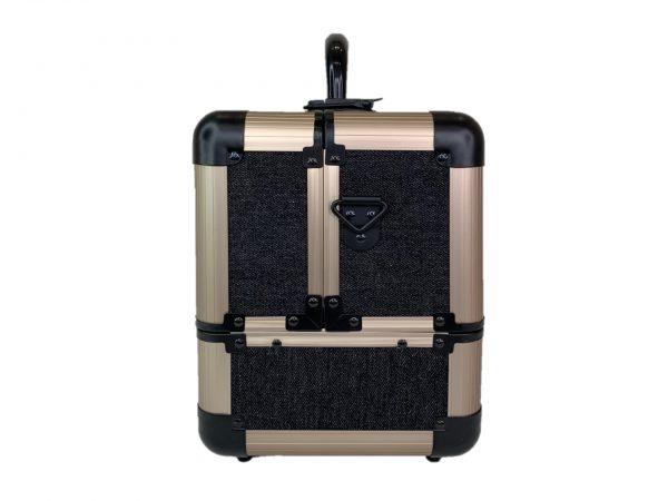 Бьюти кейс для косметики М 034 (черный) - изображение 6