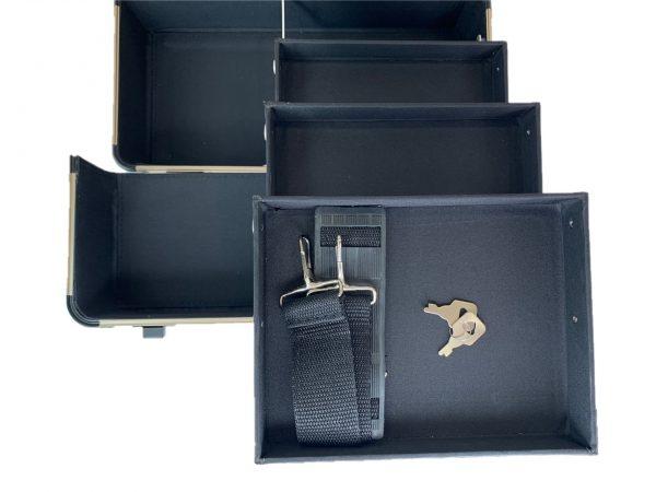 Бьюти кейс для косметики М 034 (черный) - изображение 2