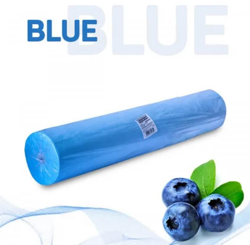 Простыни 80*200 в рулоне голубой Standart №100/600 - изображение