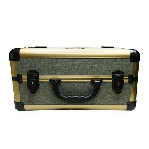 Бьюти кейс для косметики М 034 (серый) - изображение 6