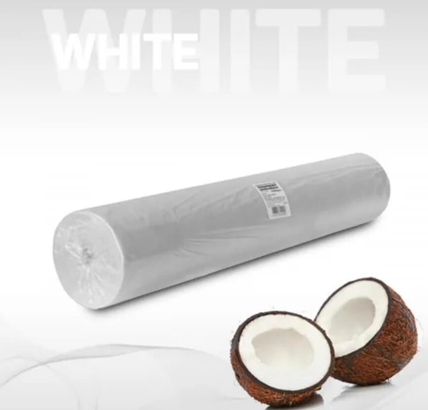 Простыни 70*200 в рулоне белый Эконом, №1/6, 14 гр/м2 - изображение