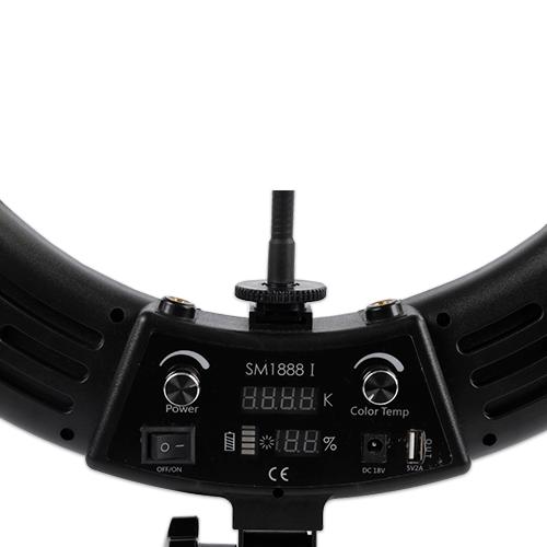 Лампа кольцевая OKIRA LED RING 480 SM 1888 I - изображение 4
