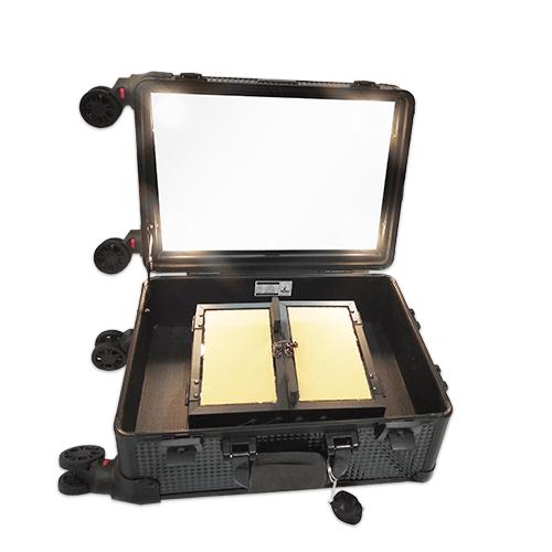 Мобильная студия визажиста черный бриллиант без ножек LC 7006 - изображение 2