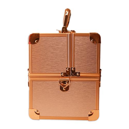Бьюти кейс для косметики CWB 5350 розовое золото - изображение 3