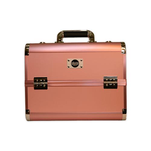 Бьюти кейс для косметики CWB 6350 розовый - изображение 5