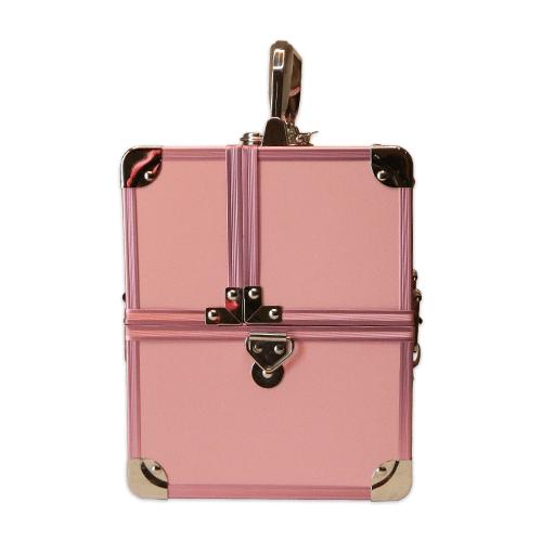 Бьюти кейс для косметики CWB 5350 розовый - изображение 4