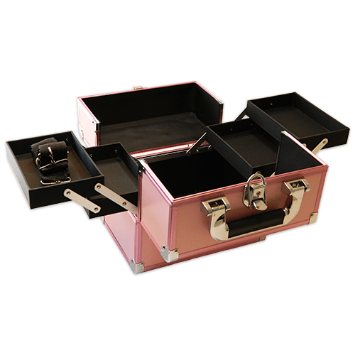 Бьюти кейс для косметики CWB 5350 розовый - изображение 3