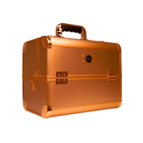 Бьюти кейс для косметики CWB 6350 розовое золото - изображение