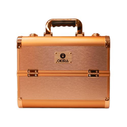 Бьюти кейс для косметики CWB 6350 розовое золото - изображение 2