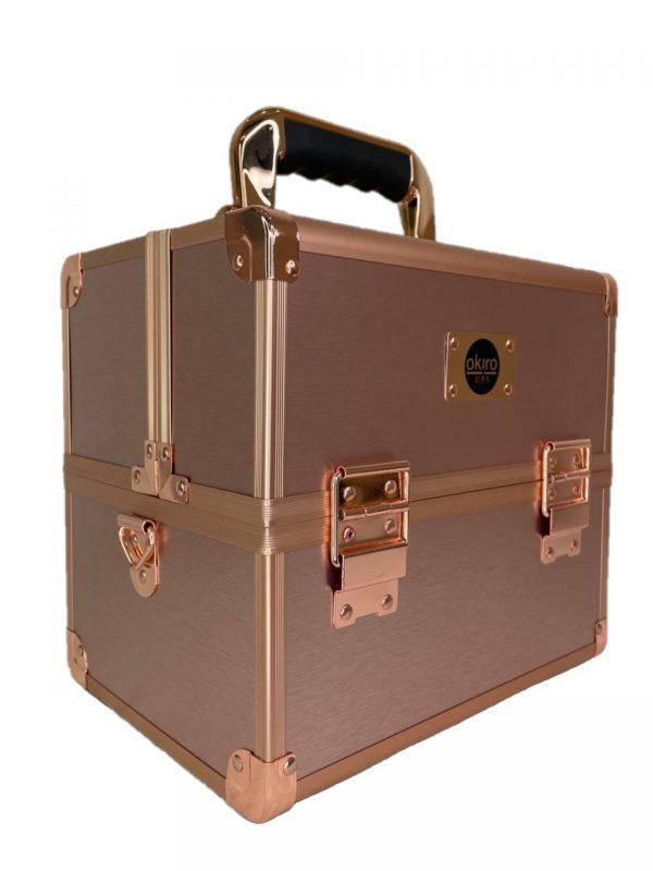 Бьюти кейс для косметики CWB 5350 розовое золото - изображение 5