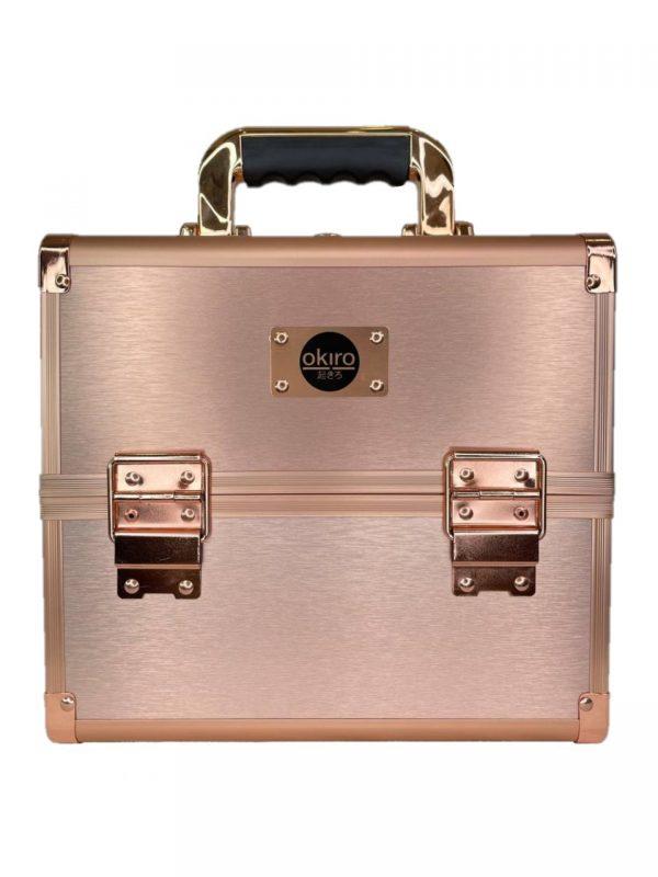 Бьюти кейс для косметики CWB 5350 розовое золото - изображение 1