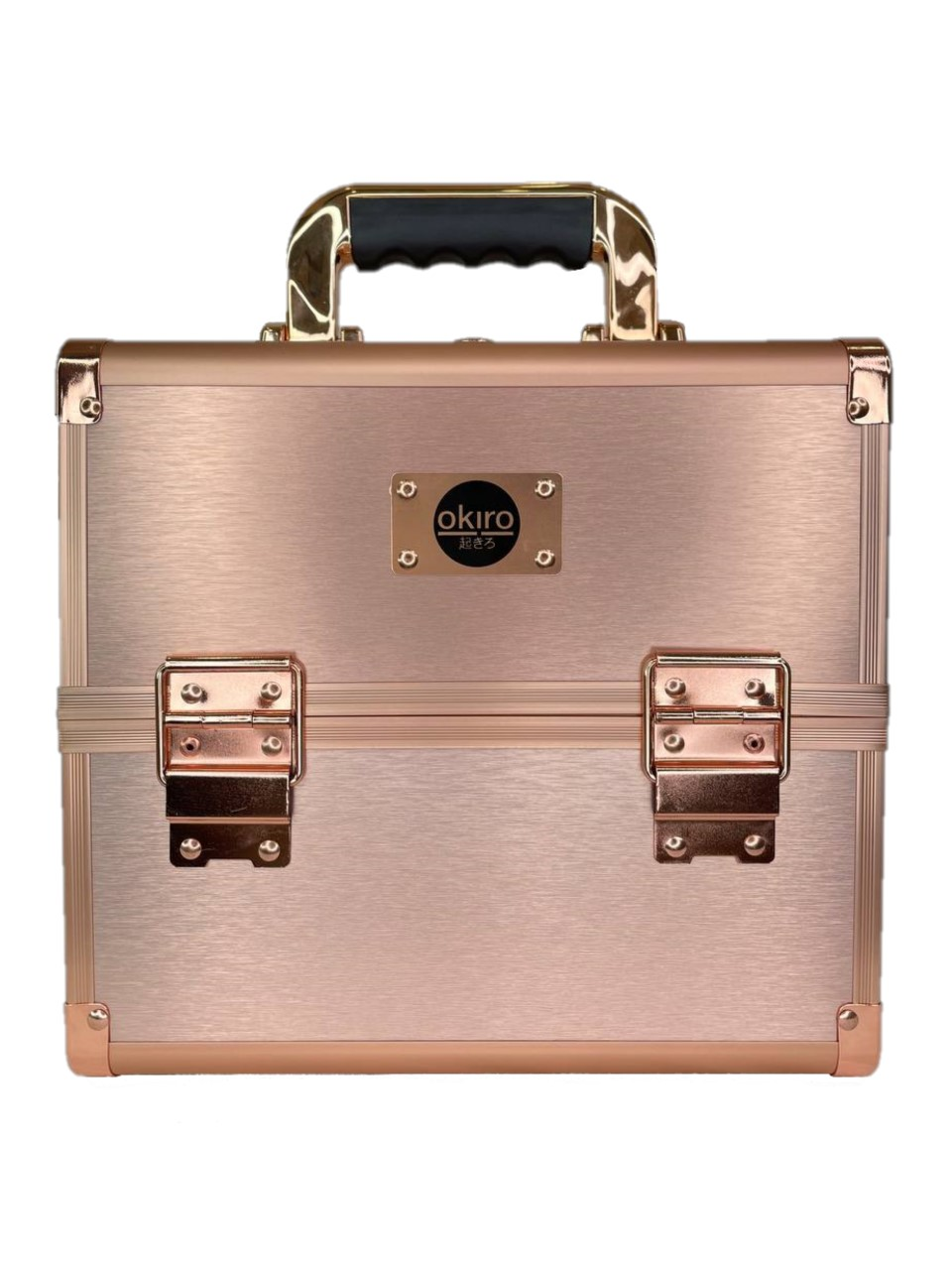Бьюти кейс для косметики CWB 5350 розовое золото - изображение
