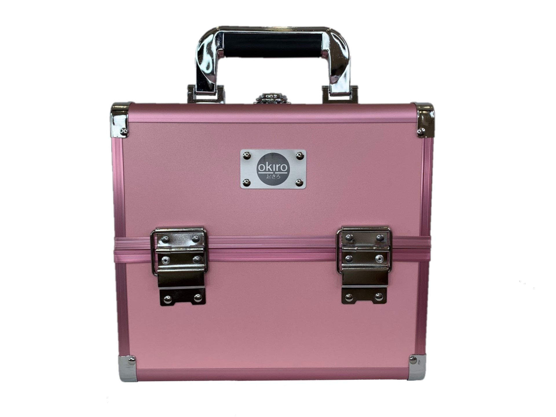 Бьюти кейс для косметики CWB 5350 розовый - изображение