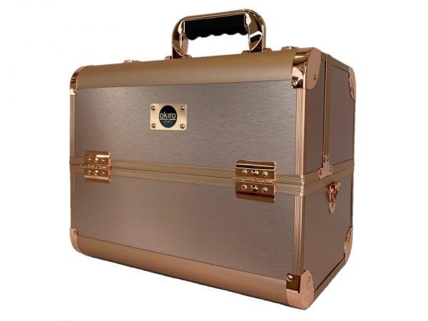 Бьюти кейс для косметики CWB 6350 розовое золото - изображение 1